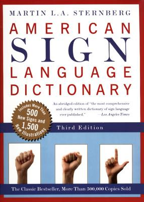 American Sign Language Dictionary-Flexi - Sternberg, Martin L A, Ed.D.