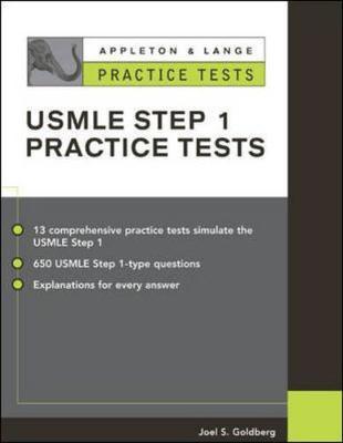 Appleton & Lange's Practice Tests for the USMLE Step 1 - Goldberg, Joel S