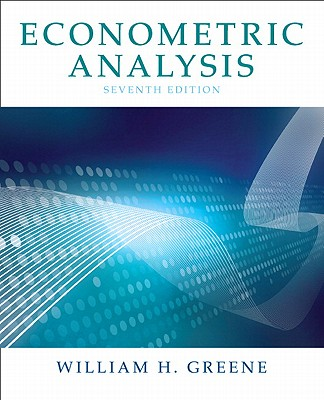 Econometric Analysis - Greene, William H