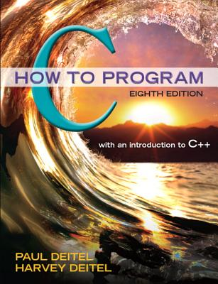 C How to Program - Deitel, Paul, and Deitel, Harvey