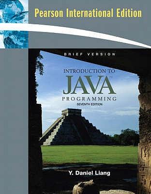 Introduction to Java Programming, Brief Version: International Version - Liang, Y. Daniel