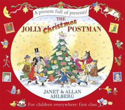 The Jolly Christmas Postman - Ahlberg, Janet, and Ahlberg, Allan