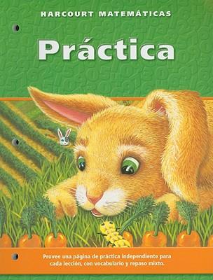 Harcourt Matematicas Practica, Grado 1 - Harcourt School Publishers (Creator)