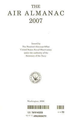 The Air Almanac - U S Nautical Almanac Office (Creator)