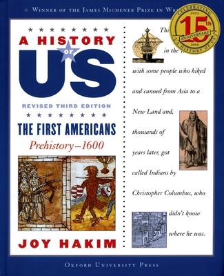 The First Americans: Prehistory-1600 - Hakim, Joy