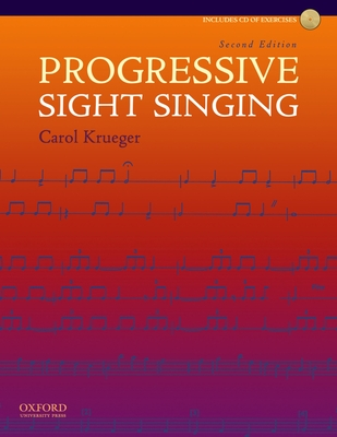 Progressive Sight Singing - Krueger, Carol
