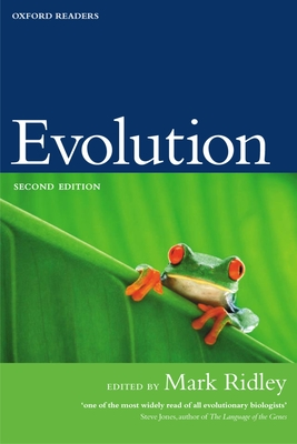 Evolution - Ridley, Mark (Editor)