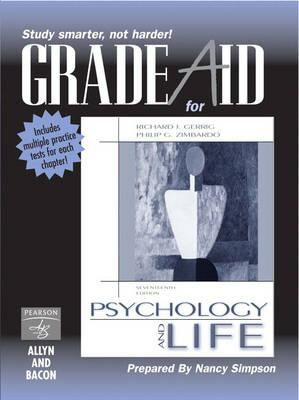 Psychology and Life: Grade Aid Workbook - Gerrig, Richard J., and Zimbardo, Philip G.