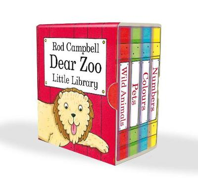 Dear Zoo Little Library - Campbell, Rod