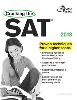 Princeton Review Cracking the SAT - Robinson, Adam, and Katzman, John
