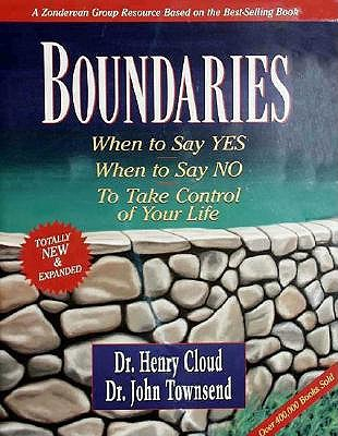 Boundaries with Book - Cloud, Henry, and Townsend, John