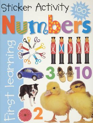 Numbers Sticker Activity - Priddy Books (Creator)