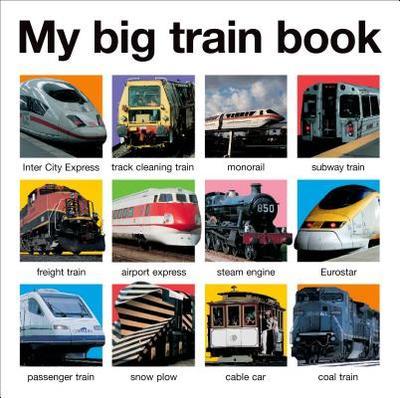 My Big Train Book - Priddy, Roger