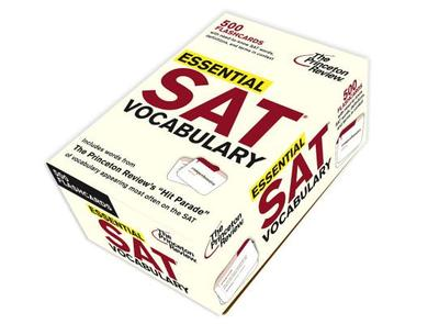 Essential SAT Vocabulary (Flashcards) - Princeton Review