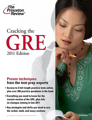 Cracking the GRE - Princeton Review, and Lurie, Karen