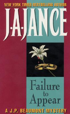 Failure to Appear - Jance, J A