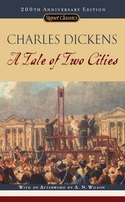 A Tale of Two Cities - Dickens, Charles, and Wilson, A N (Afterword by), and Busch, Frederick (Introduction by)