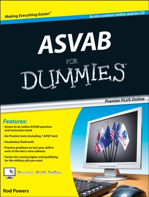 ASVAB for Dummies, Premier Edition - Powers, Rod
