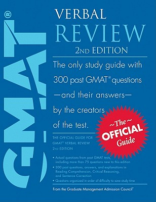 GMAT Verbal Review - Graduate Management Admission Council (GMAC)