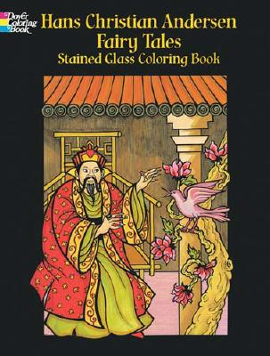 Hans Christian Andersen Fairy Tales Stained Glass Coloring Book - Stewart, Pat