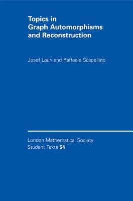 Topics in Graph Automorphisms and Reconstruction - Lauri, Josef, and Scapellato, Raffaele