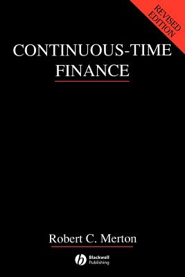 Continuous-Time Finance - Merton, Robert C, and Samuelson, Paul Anthony (Designer)