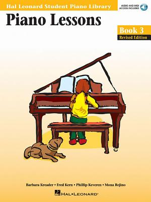 Piano Lessons, Book 3 - Kreader, Barbara, and Keveren, Phillip, and Kern, Fred