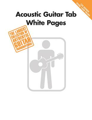 Acoustic Guitar Tab White Pages - Hal Leonard Publishing Corporation (Creator)