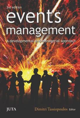 Event Management: A Developmental and Managerial Approach - Tassiopoulos, Dimitri (Editor)