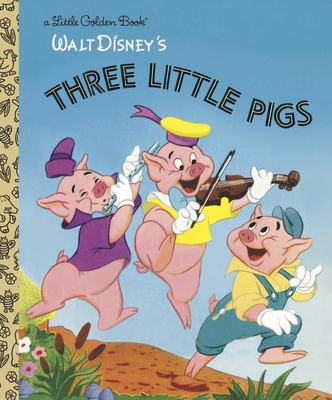Three Little Pigs - Golden Books, and Banta, Milt (Adapted by), and Dempster, Al (Adapted by)