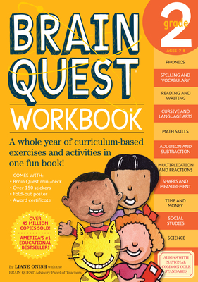 Brain Quest Grade 2 Workbook - Onish, Liane, and Swann, Jill (Editor)