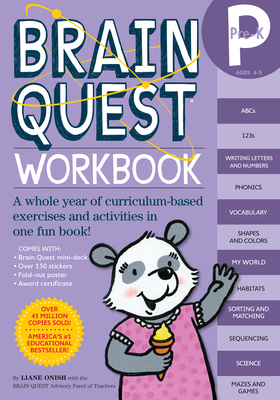 Brain Quest Pre-K Workbook - Onish, Liane, and Fung, Jane Ching (Editor)