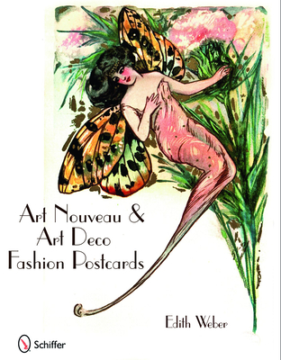 Art Nouveau & Art Deco Fashion Postcards - Weber, Edith