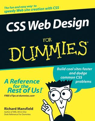 CSS Web Design for Dummies - Mansfield, Richard