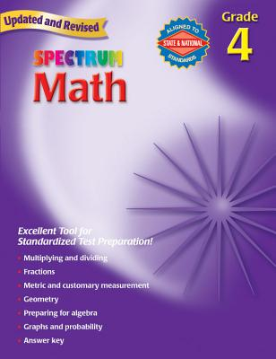 Spectrum Math, Grade 4 - School Specialty Publishing (Creator)