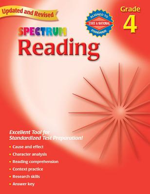 Spectrum Reading, Grade 4 - Spectrum (Creator)