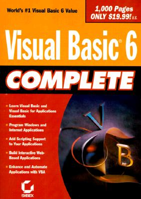 Visual Basic 6 Complete - Sybex, and Brown, Steve