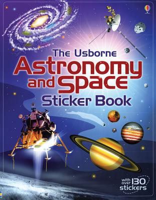 Astronomy and Space Sticker Book - Bone, Emily