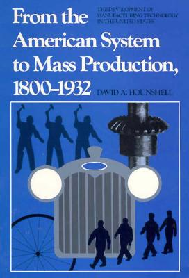 From the American System to Mass Production, 1800-1932: The Development of Manufacturing Technology in the United States - Hounshell, David A
