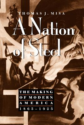 A Nation of Steel: The Making of Modern America, 1865-1925 - Misa, Thomas J, Professor
