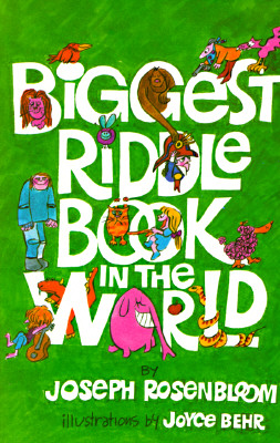 Biggest Riddle Book in the World - Rosenbloom, Joseph