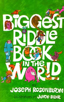 Biggest Riddle Book in the World - Rosenbloom, Joseph