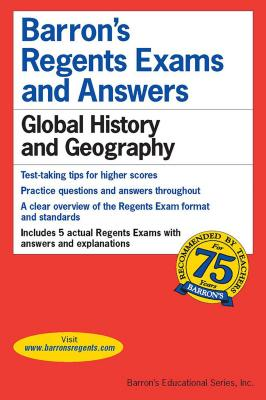 Barron's Regents Exams and Answers: Global History & Geography - Lefton, Phillip, and Lefton, Martin & Streitwieser, and Romano