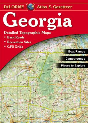 Georgia - Delorme2nd / - Rand McNally, and Delorme Publishing Company, and DeLorme