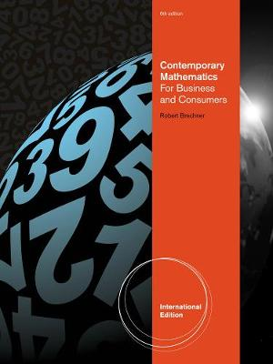 Contemporary Mathematics for Business and Consumers - Brechner, Robert A.