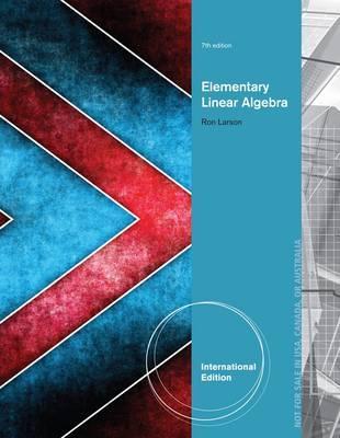 Elementary Linear Algebra - Larson, Ron, and Falvo, David C.