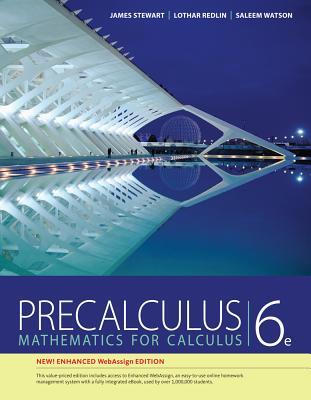 Precalculus, Enhanced Webassign Edition (Book Only) - Stewart, James, and Redlin, Lothar, and Watson, Saleem