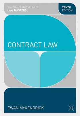Contract Law - McKendrick, Ewan