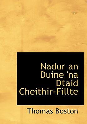 Nadur an Duine 'na Dtaid Cheithir-Fillte - Boston, Thomas