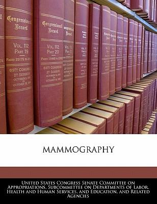 Mammography - United States Congress Senate Committee (Creator)